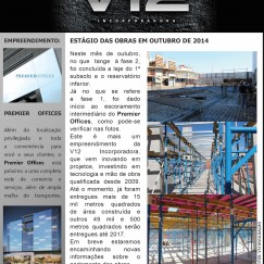 Informativo V12 - Premier Offices - Out/2014