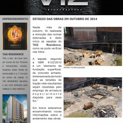 Informativo V12 - TAG Residence - Out/2014