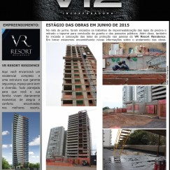Informativo V12 - VR Resort Residence - Jun/2015